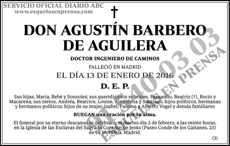 Agustín Barbero de Aguilera